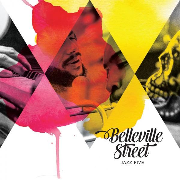 Jazz Five pladecover for Belleville Street